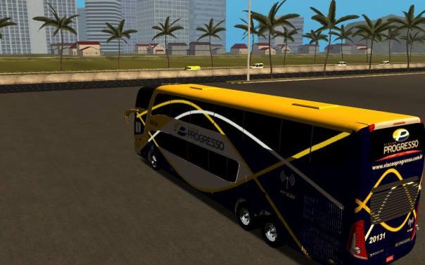 ModBus Ultimate 1.2 - Paradiso G7 1800 DD Scania Viação Progresso