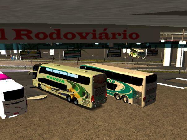 ModBus Ultimate 1.2 Viação Garcia - Paradiso G7 1800DD Scania Campainas