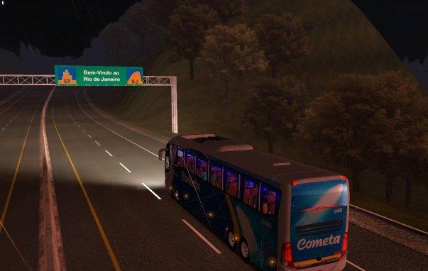 ModBus ALH 2.0 Viação Cometa Via Dutra