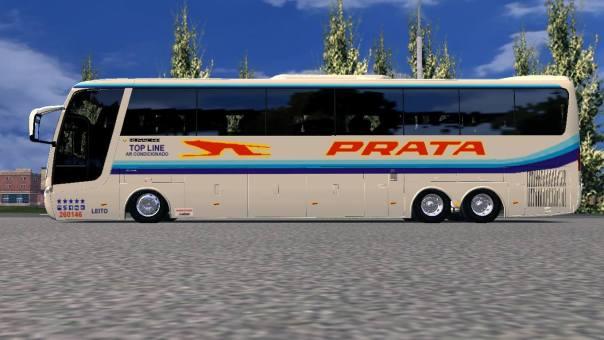 ModBus ALH 2.0 Busscar Jum Buss 380 Scania Viação Prata