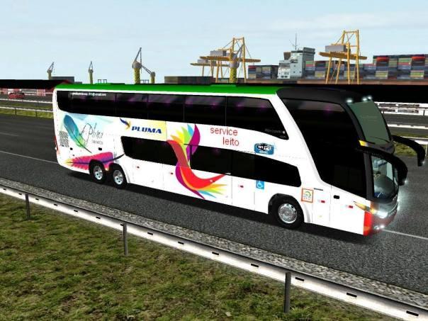 ModBus ALH 2.0 Paradis G7 1800DD Scania 6x2 Viação Pluma Porto Alegre