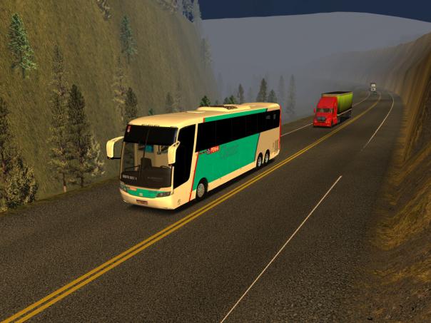 ModBus ALH 2.0 Busscar Vissta Buss Hi Mercedes-Benz Penha