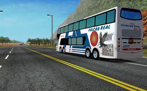 ModBus Nordeste Panorâmico DD Scania 8x2 Falcão Real