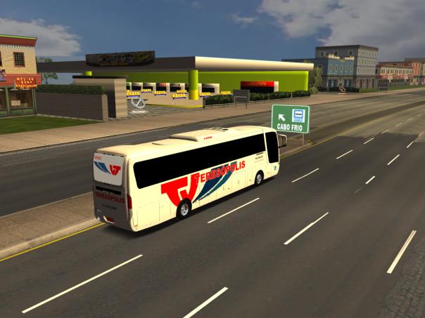 ModBus ALH 2.0 Viação Teresópolis Busscar Vissta LO Scania