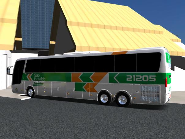 ModBu ALH 2.0 Busscar Jum Buss 360 Scania São Geraldo