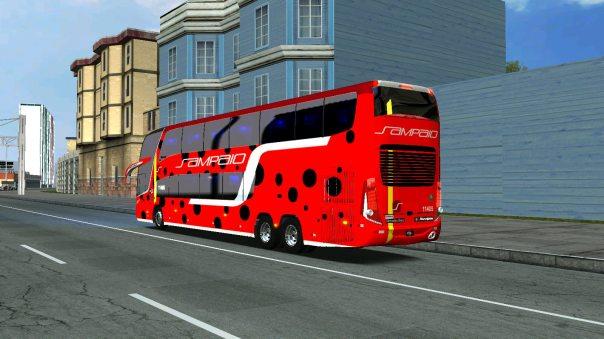 ModBus ALH Paradiso G7 1800DD Mercedes-Benz Viação Sampaio