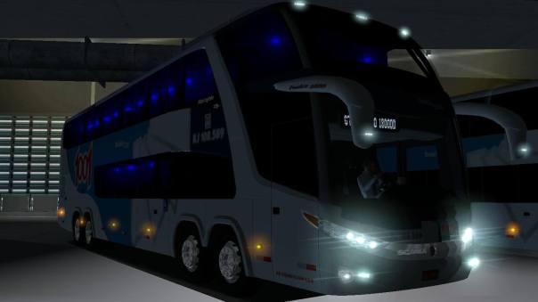 ModBus ALH 2.0 Paradiso G7 1800 DD Scania 8x2 Auto Viação 1001