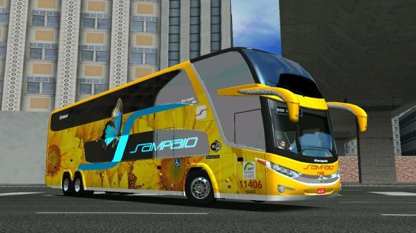 ModBus ALH Paradiso G7 1800 DD Mercedes-Benz Viação Sampaio