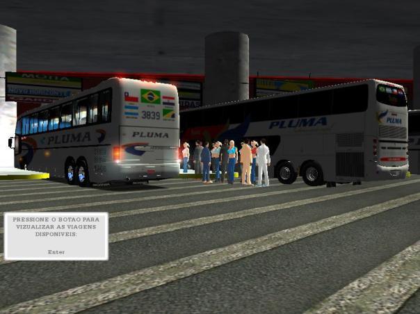 ModBus ALH 2.0 Clube ModBus Paradiso GV 1150 Scania Viação Pluma