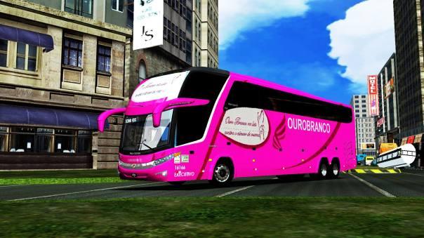 MOdBus ALH 2.0 Clube ModBus Paradiso G7 1600LD Scania Viação Ouro Branco Outubro Rosa