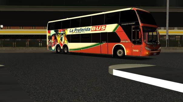 ModBus ALH 2.0 Clube ModBus Busscar Panorâmico DD Mercedes-Bens La Preferida Bus