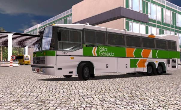 ModBus ALH 2.0 Clube ModBus Diplomata 350 Scania Viação São Geraldo