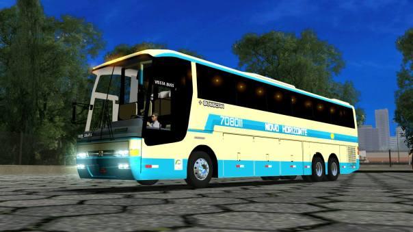ModBus ALH 2.0 Clube ModBus Busscar Vissta Buss Viação Novo Horizonte