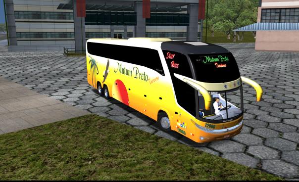 ModBus ALH 2.0 Clube Modbus Paradiso G7 1600Ld Volvo Viação Mutum Preto