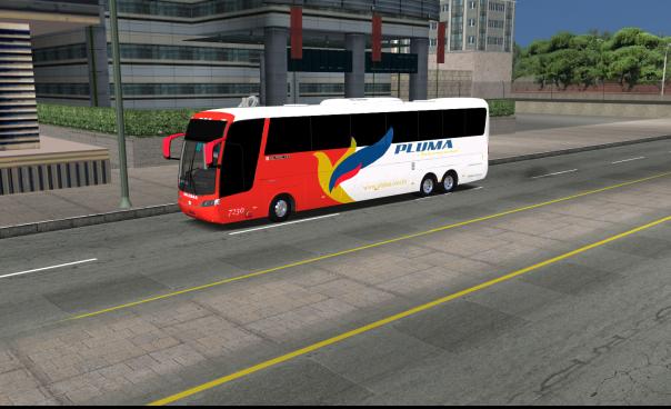 ModBus ALH 2.0 Clube ModBus Busscar Jum Buss 380 Scania Viação Pluma