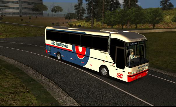 ModBus ALH 2.0 Clube modBus Jum Buss 340 Scania Viação São Cristóvão