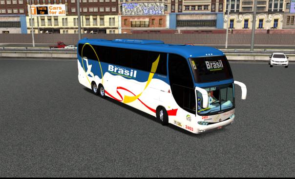 ModBus ALH 2.0 Clube ModBus Paradiso G6 1550LD Scania Viação TransBrasil