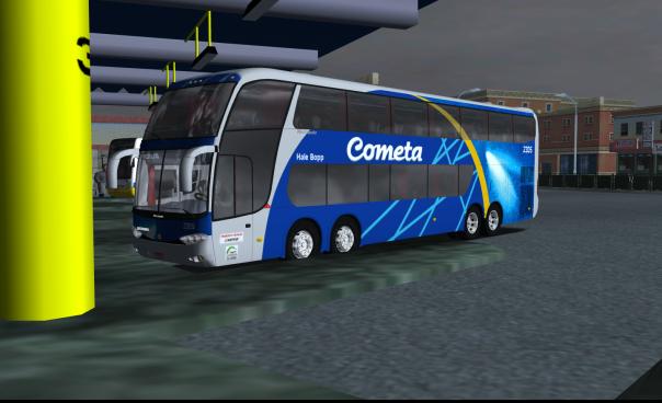 ModBus ALH 2.0 Clube ModBUs Paradiso G6 1800DD Scania Viação Cometa