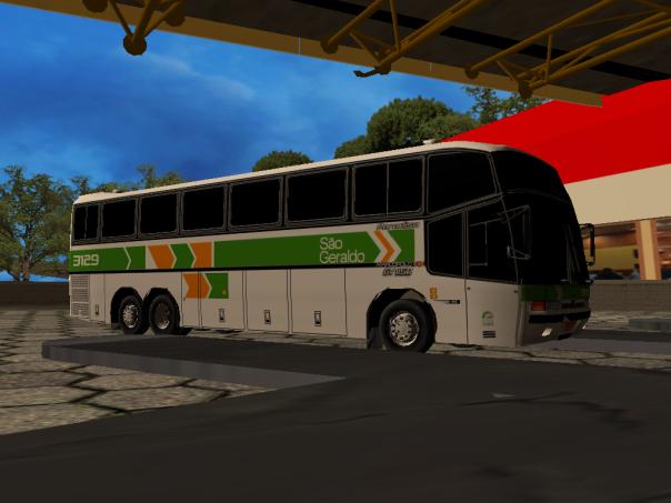 ModBUs ALH 2.0 Clube ModBus Paradiso GV 1150 Scania Viação São Geraldo