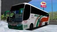 ModBus ALH Clube ModBus Paradiso G6 1350 Scania Viação Andorinha