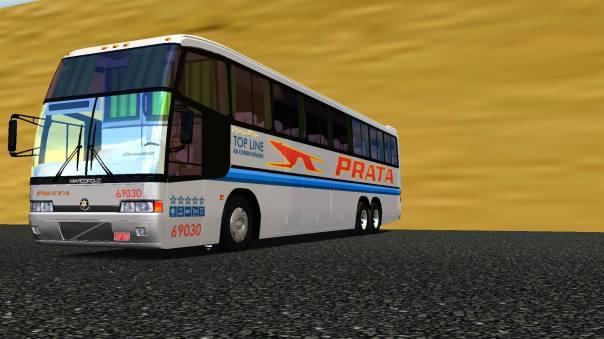 ModBus ALH 2.0 Clube ModBus Paradiso GV 1150 Volvo B10M Viação Prata