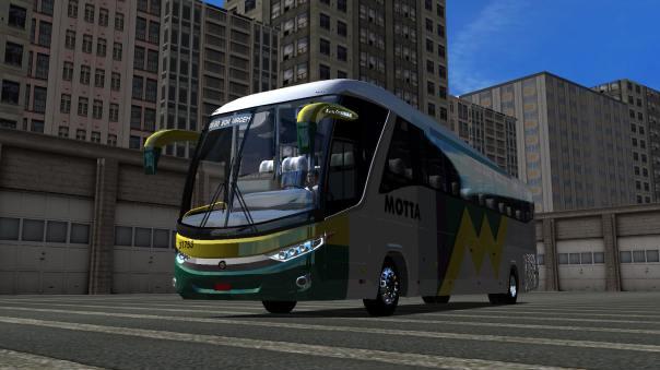 ModBus ALH 2.0 Clube ModBus Paradiso G7 1200 Mercedes-Benz Viação Motta