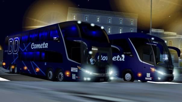 ModBus ALH 2.0 Clube ModBus Paradiso G7 1800DD Scania Viação Cometa