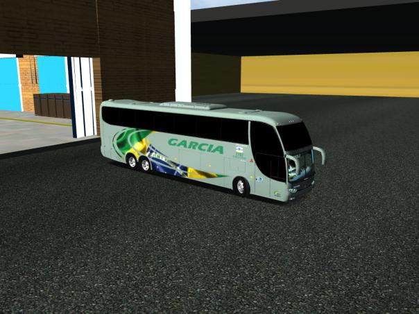 ModBus ALH 2.0 Clube ModBus Paradiso G6 1550LD Scania Viação Garcia
