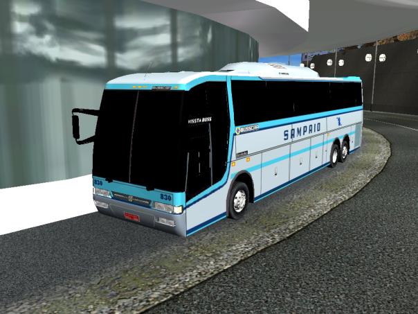 ModBus ALH 2.0 Busscar Vissta Bus Viação Sampaio