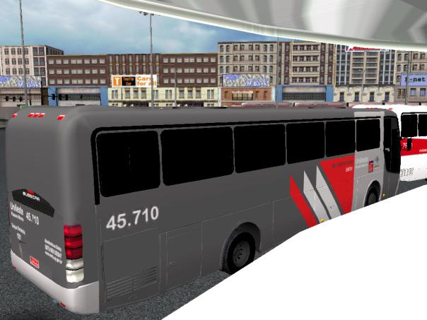 ModBus ALH 2.0 Busscar El Buss 340 Viação Pássaro Marrom