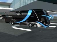 ModBus ALH 2.0 Clube ModBus Paradiso G7 1800DD Scania 8x2 Viação Nossa Senhora da Penha