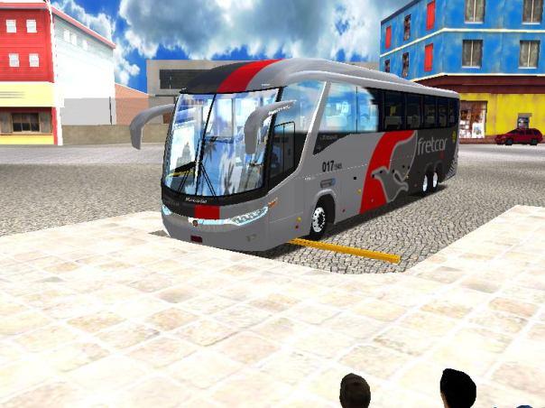 ModBus Nordeste Paradiso G7 1200 Scania Viação Fretcar Fortaleza