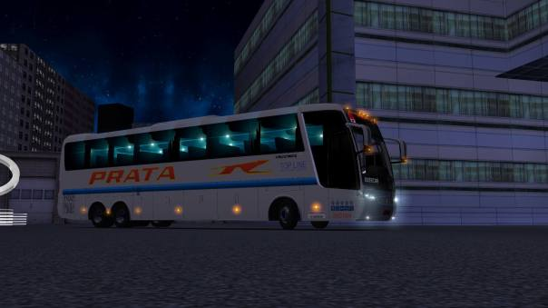 ModBus ALH 2.0 Busscar Vissta Buss Hi Scania Viação Prata