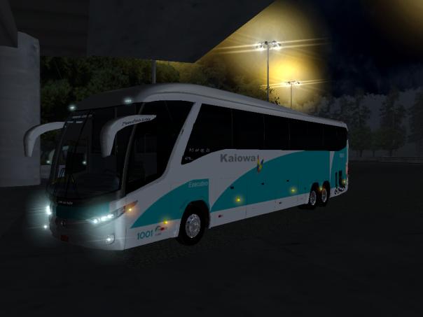 ModBus ALH 2.0 Paradiso G7 1200 Mercedes-Benz Viação Kaiowa