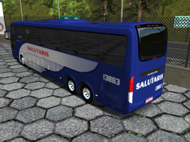 ModBus ALH 2.0 Busscar Vissta Buss HI Mercedes- Viação Salutaris
