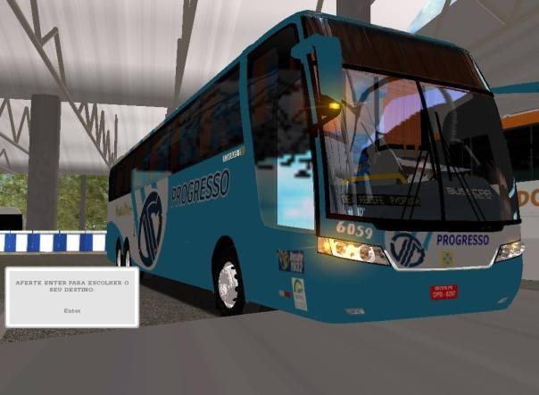 ModBus ALH 2.0 Busscar Jum Buss 380 Scania Viação Progresso