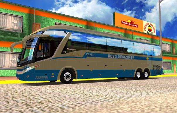 ModBus ALH 2.0 Paradiso G7 1200 Mercedes-Benz Viação Novo Horizonte
