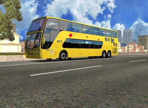 ModBus ALH 2.0 Busscar Panorâmido DD Scania Viação Real Bus