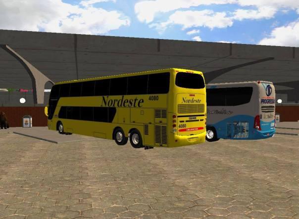 ModBus ALH 2.0 Busscar Panorâmico DD Viação Nordeste - ModBus Nordeste
