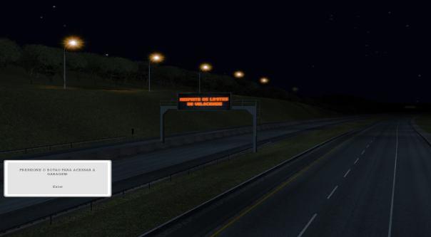 ModBus ALH 2.0 Placa de informação em rodovia
