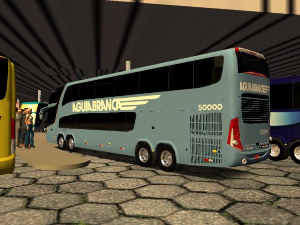 ModBus ALH Paradiso G7 1800DD Mercedes-Benz 8x2 Viação Aguia Branca - Rio x Vitória