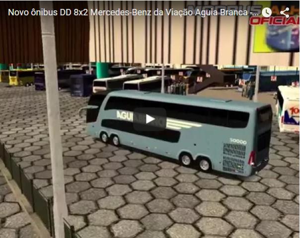 ModBus ALH Paradiso G7 1800DD Mercedes-Benz 8x2 Viação Aguia Branca - YouTube ModBus ALH OFicial
