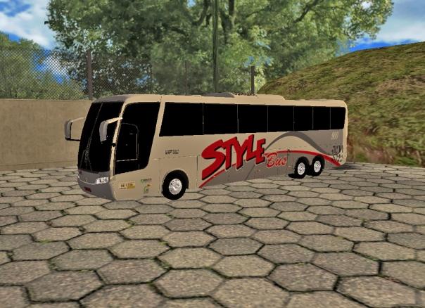 ModBus ALH Busscar Vissta Buss Hi Style Bus Turismo