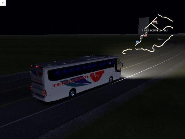 ModBus ALH Paradiso G6 1200 Scania Viação Teresópolis