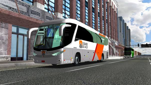 ModBus ALH Paradiso G7 1200 Scania Viação Cidade do Aço
