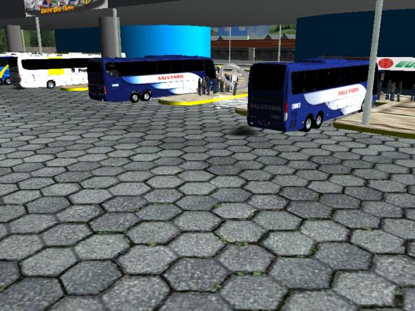 ModBus ALH Rodoviária de Três Rios Busscar Vissta Buss HI e Paradiso G6 1200 6x2 Mercedes-Benz