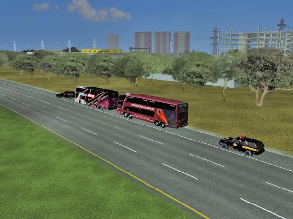 ModBus ALH PRF e PF param ônibus internacionais