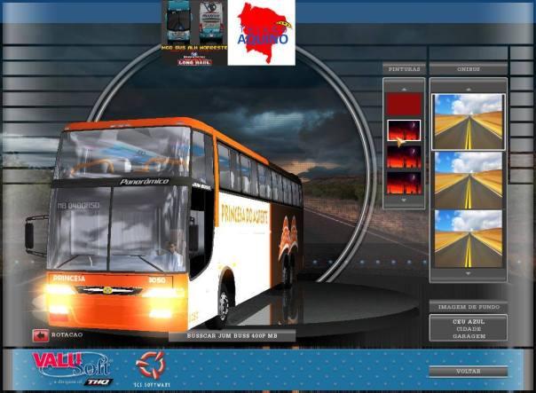 ModBus ALH Busscar Jum Buss Panorâmico 400P Viação Princesa do Agreste