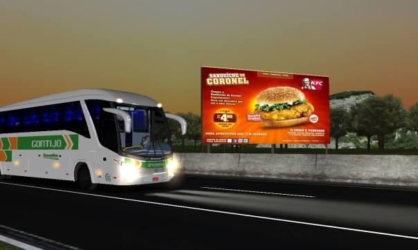 ModBus ALH Paradiso G7 1200 Scania Viação Gontijo Mapa do Juvenal