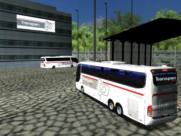 ModBus ALH Paradiso G6 1150LD Scania Viação Transpen - Mapa do Juvenal